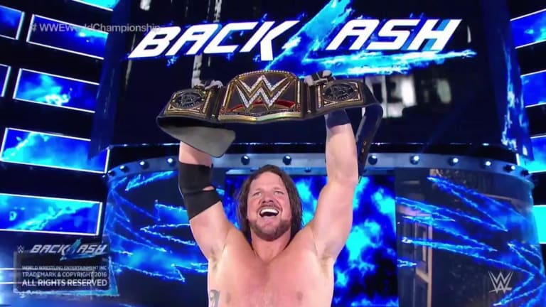 AJ Styles Signs a New Deal With WWE