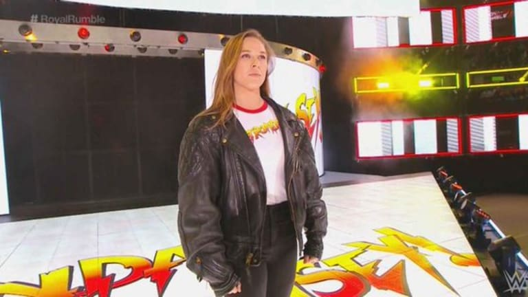 Ronda Rousey Announced for Big Tag Team Match on This Week's RAW