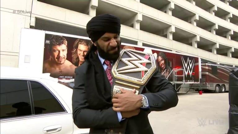 Jinder Mahal Talks About Being Left Off SummerSlam Card