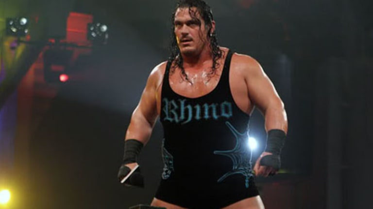 Rhyno Loses Career Match, Retires During Commercial Break
