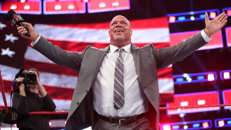 Kurt Angle Officially Names His Wrestlemania Opponent