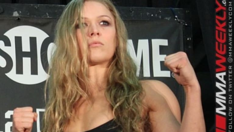 "Ronda Rousey Goes on Anti-Pro Wrestling Rant in Video ""Wrestling is Scripted. It's Made Up. It's Not Real."""