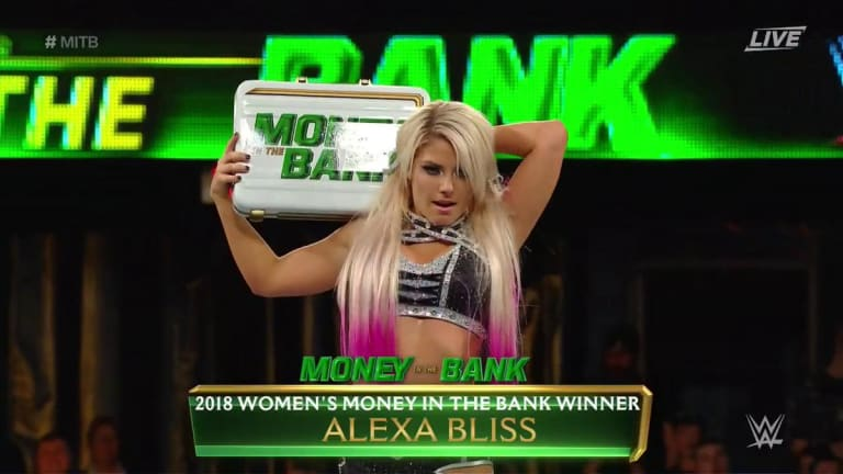 Breaking News: Alexa Bliss Pulled from Money in the Bank; Not Medically Cleared