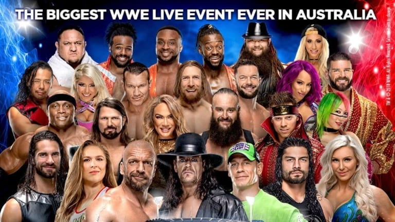 Match Announced For WWE Super Show-Down