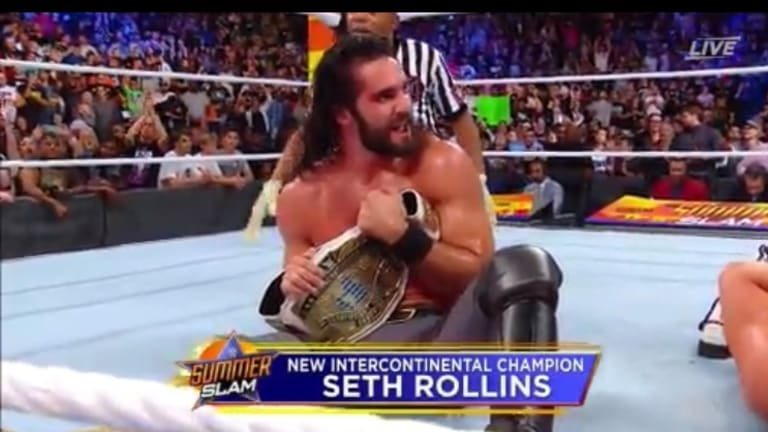 Seth Rollins Captures Intercontinental Championship At SummerSlam