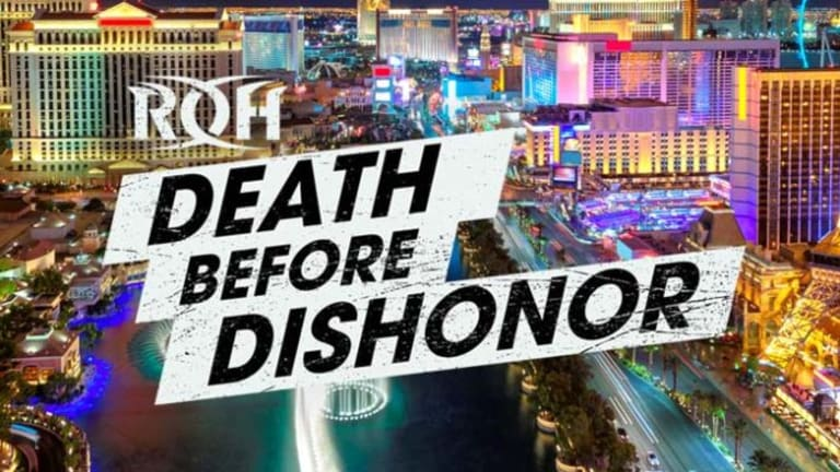 Tonight's ROH Death Before Dishonor Card