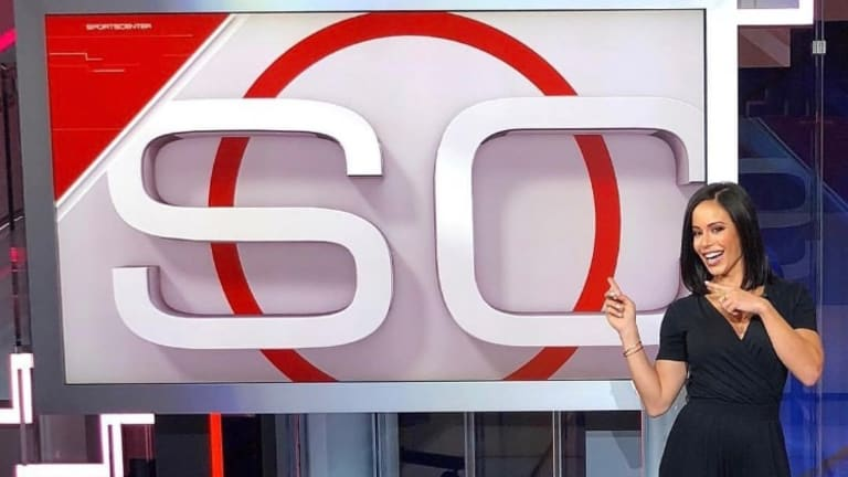 WWE's Charly Caruso Working With ESPN