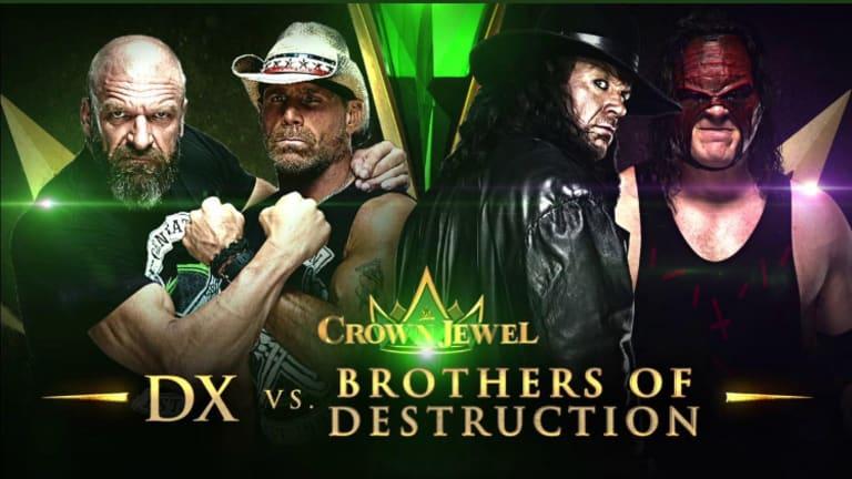 WWE Crown Jewel Match Announced