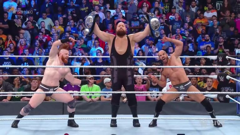 The Bar Become the New Smackdown Tag Team Champions