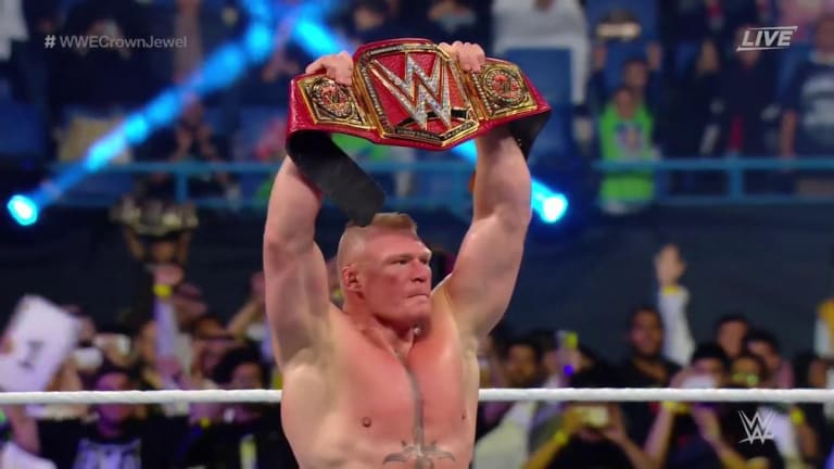 Brock Lesnar Wins the Universal Championship... Again