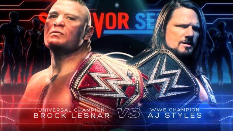 Major Survivor Series Match Announced