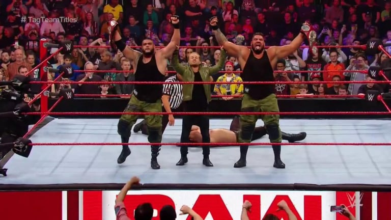 New Tag Team Champions Crowned on RAW