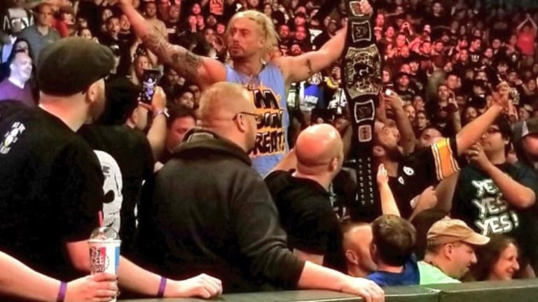 Enzo Amore At Survivor Series, Gets Ejected By Security