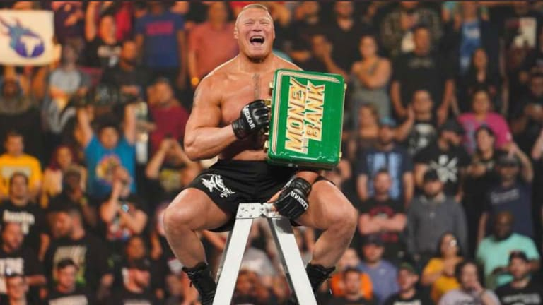 Brock Lesnar Cashing In His Money In The Bank Briefcase Next Week On Raw?