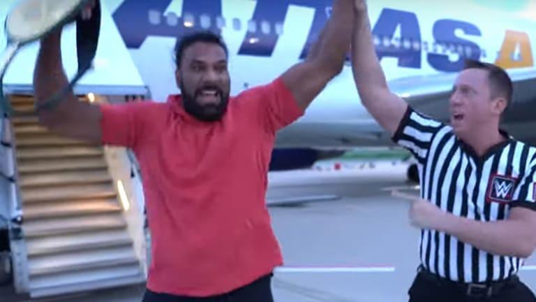 Jinder Mahal Regains 24/7 Championship; Sami Zayn Partnering with SAMS