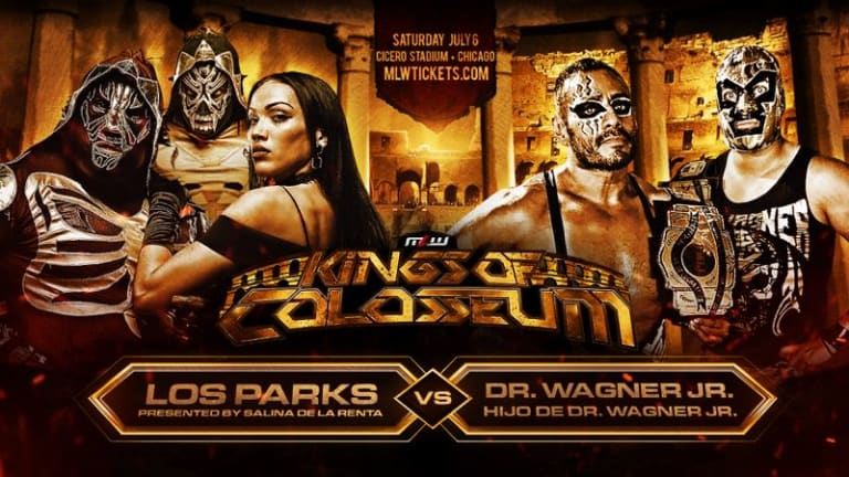 Dr. Wagner and El Hijo de Wagner Jr Debut Match Announced