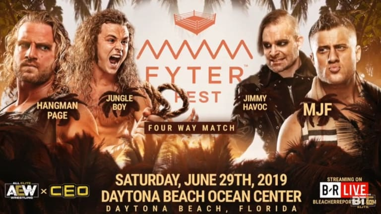 New AEW Match Announced for Fyter Fest