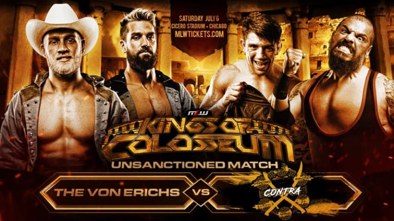 Von Erichs Clash with CONTRA in Unsanctioned Match July 6 in Chicago
