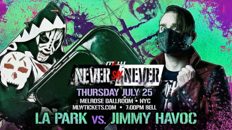 Jimmy Havoc vs. LA Park DREAM MATCH signed for MLW July 25 in NYC