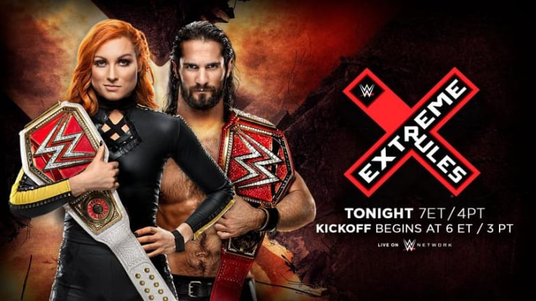 Extreme Rules 2019 Match Lineup