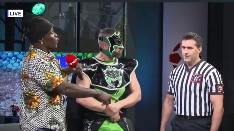 R-Truth Defends 24/7 Championship At Comic-Con