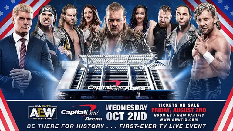 AEW Announces Ticket Sale and First Match for First Ever TV Debut
