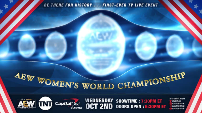 AEW to Crown First Women's Champ on Television Debut