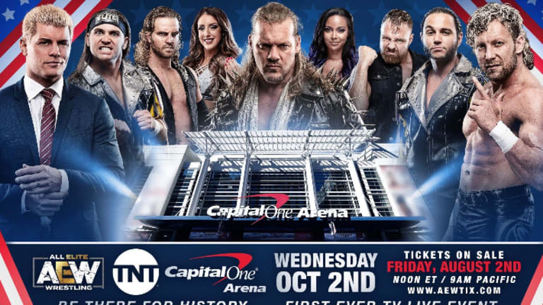 Tony Khan Says Capital One Arena Is Sold Out For AEW