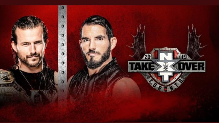 NXT TakeOver Toronto Final Match Card