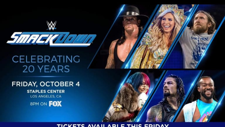 Smackdown's 20th Anniversary Announced For Premiere Night On FOX