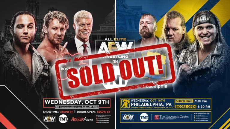 AEW Sells Out Week Two And Three For TV In Less Than 60 Minutes