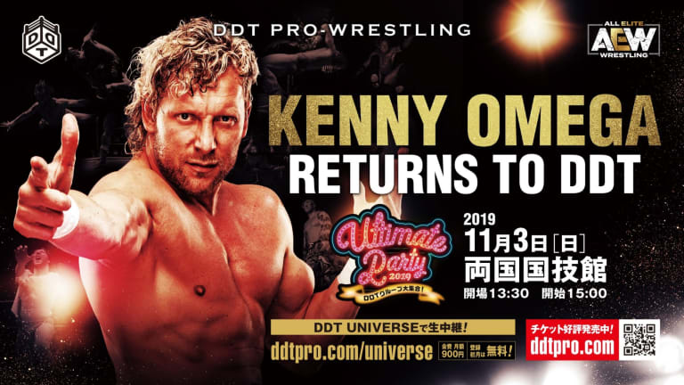 Kenny Omega Returns to DDT Pro Wrestling