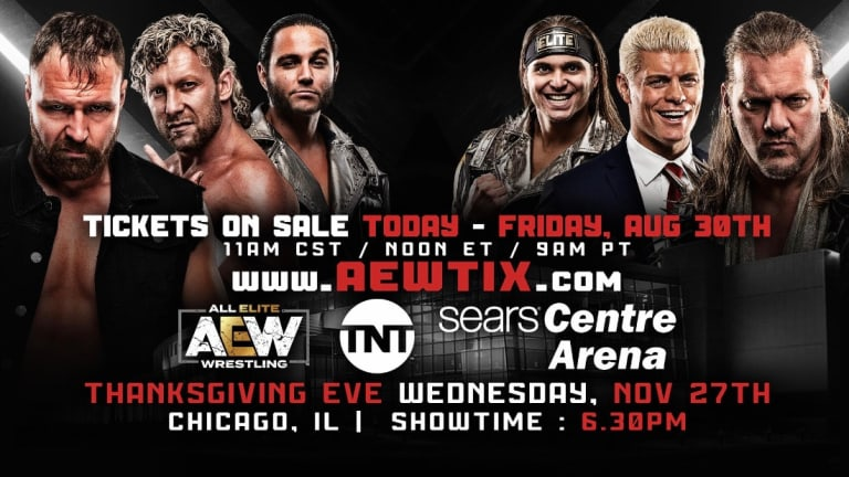 AEW Returning To Chicago In November