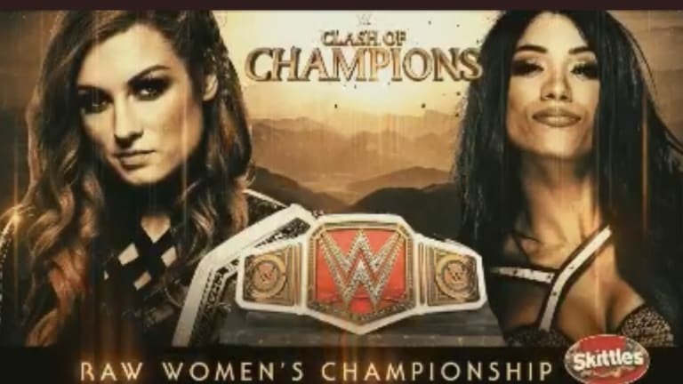 Match Set For Clash Of Champions