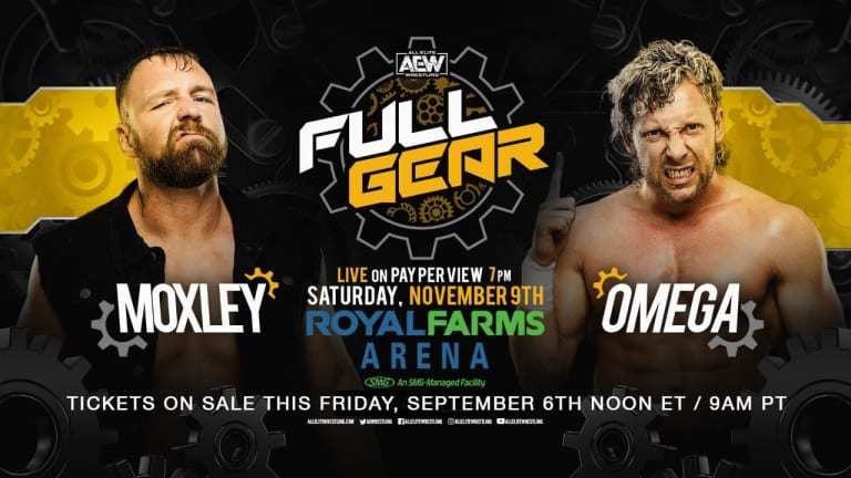 Huge Match Announced for AEW Full Gear