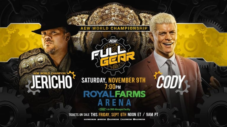 AEW World Championship Match Announced for Full Gear