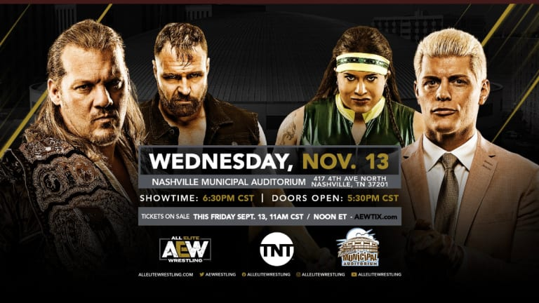 AEW's Newest Location Revealed For Television