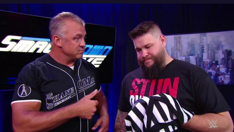 Kevin Owens Teasing A Return To NXT?