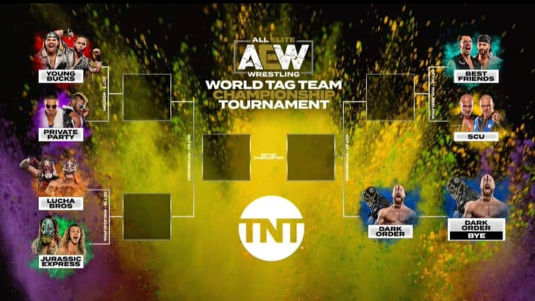 AEW Releases Tag Team Tournament Bracket For Tag Team Titles