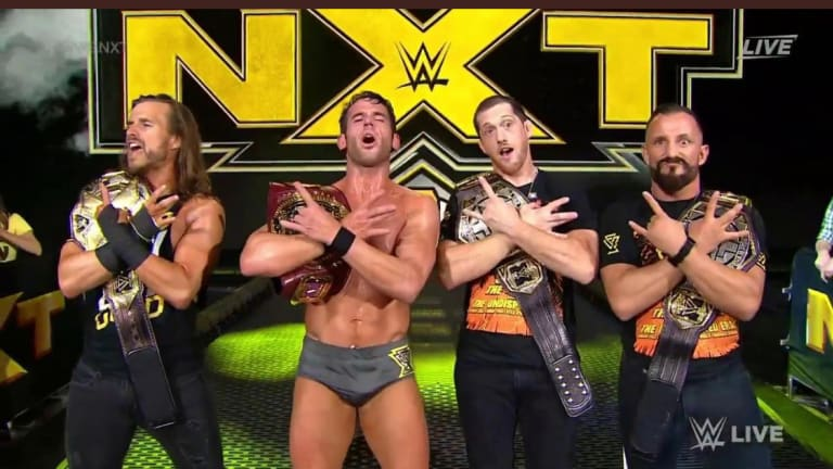 NXT On USA Debut Results (09/18/19)- The Wednesday Night Wars Start Underwhelming