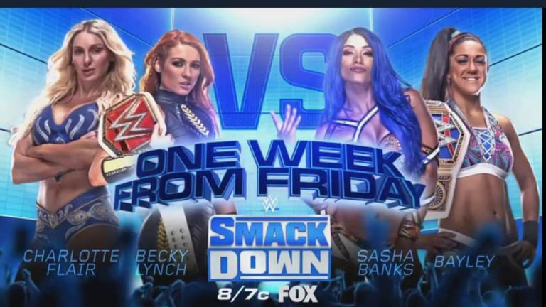 Two More Matches Announced For Smackdown On FOX