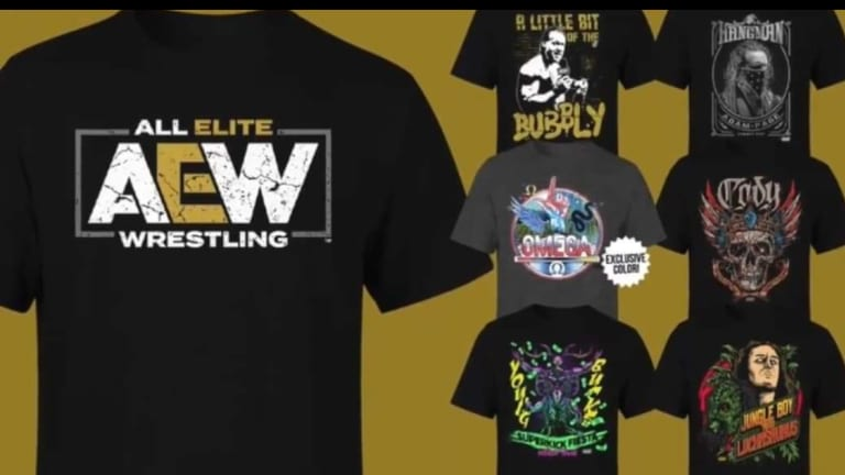 AEW Partnering With Hot Topic Announcement