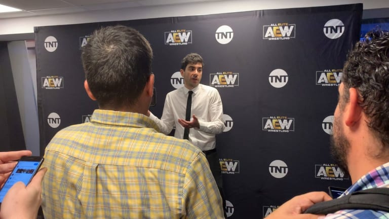 AEW Dynamite Post-Show Media Presser And Interviews