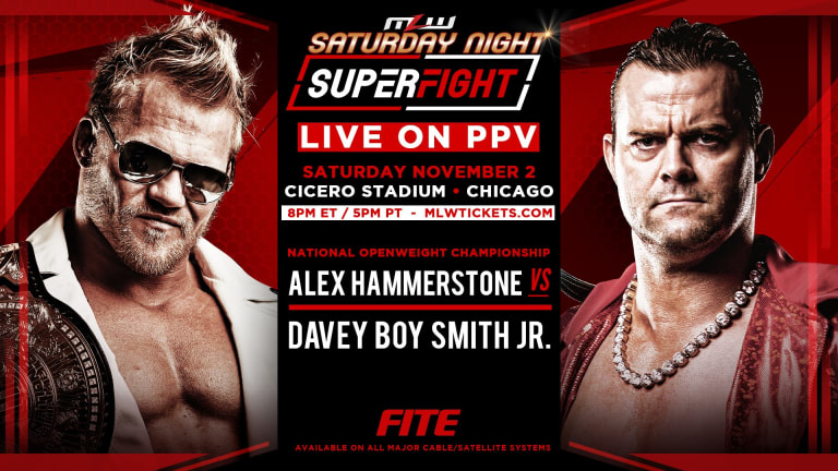 SuperFight: Davey Boy Smith vs. Alex Hammerstone for National Openweight Title LIVE ON PPV!