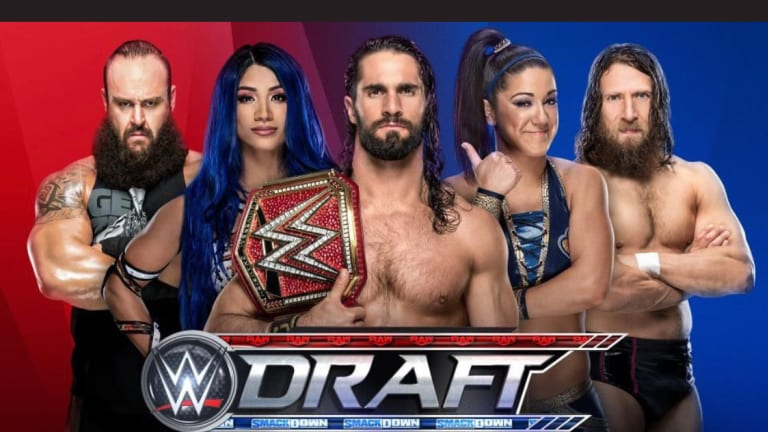 WWE's Draft Rules Explained, Two Major Matches Announced For Smackdown