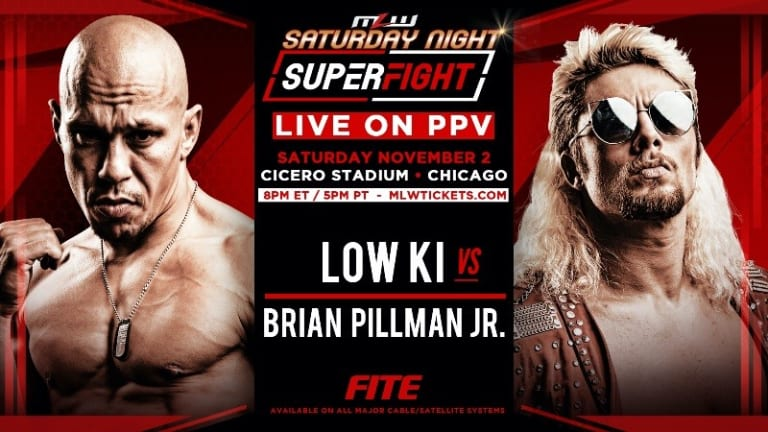 Low Ki and Brian Pillman Jr. Battle for Respect Signed for SuperFight PPV this Saturday night