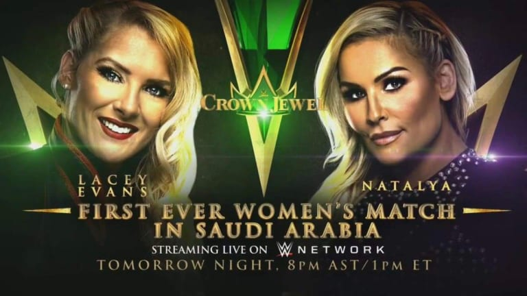 BREAKING: Women's Match Set For Crown Jewel