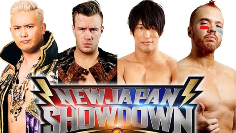 NJPW Showdown Matches Set, Indy Star Alex Zayne to Make Debut