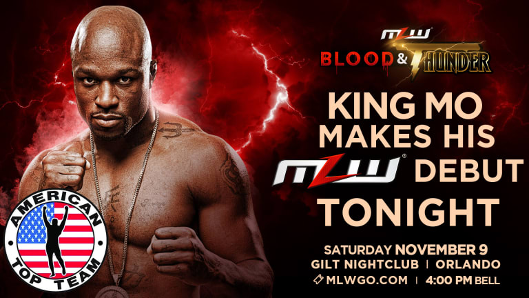 King Mo makes MLW debut tonight in Orlando at GILT