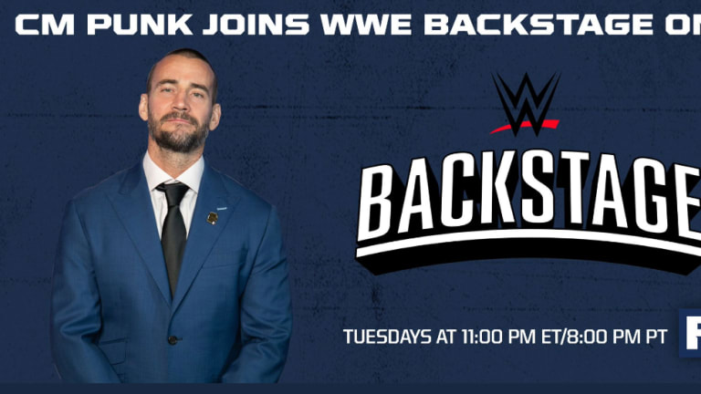 Breaking: CM Punk Joins WWE Backstage